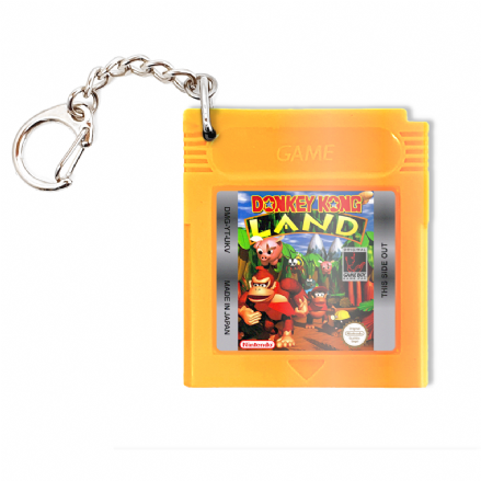 Donkey Kong Land Replica Gameboy Game Cartridge Keyring